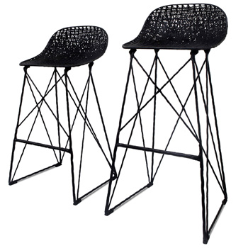 Carbon Bar & Counter Stool - Quickship