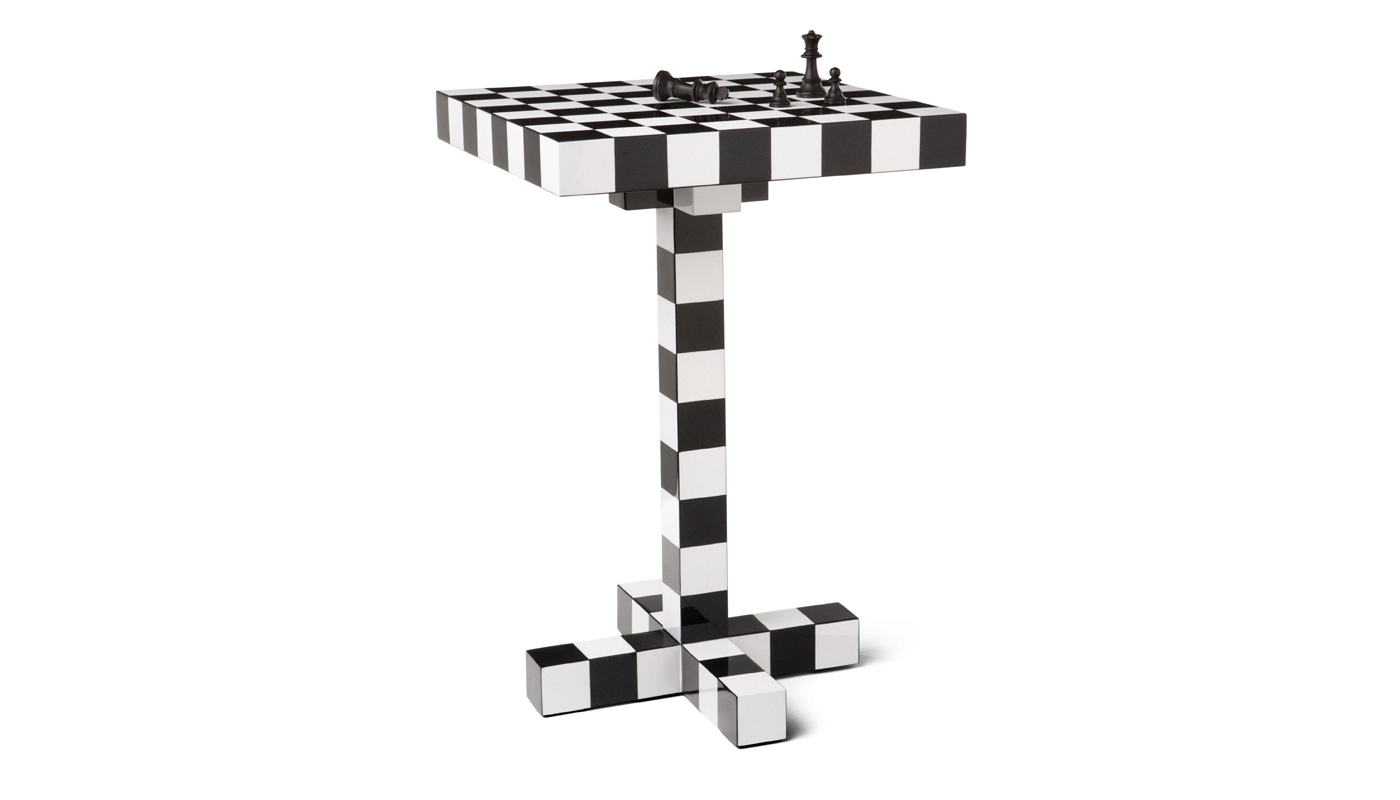 Chess Small Table - Quickship