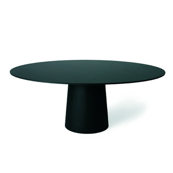 Container Dining Table - Oval - In Our Showroom