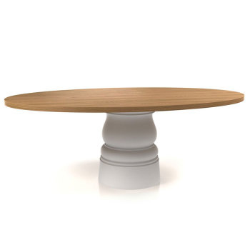 Container Dining Table - Wood