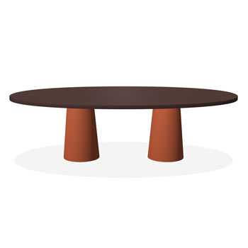 Container Dining Table - Classic Oval