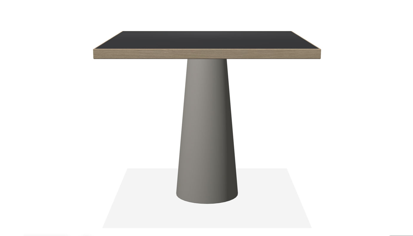 Container Dining Table - Classic Square