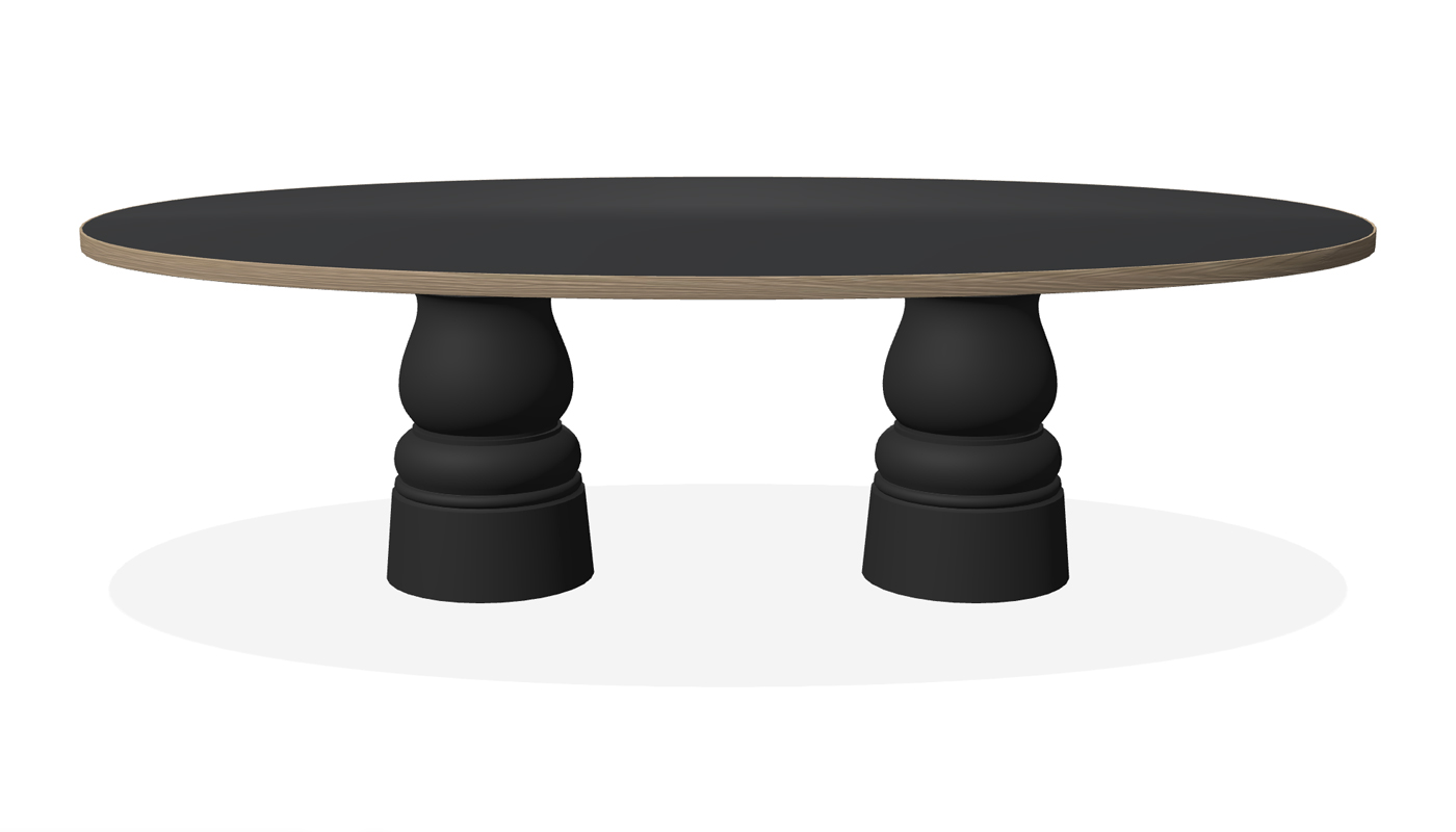 Container Dining Table - New Antiques Oval