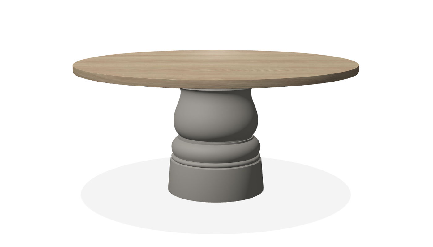 Container Dining Table - New Antiques Round