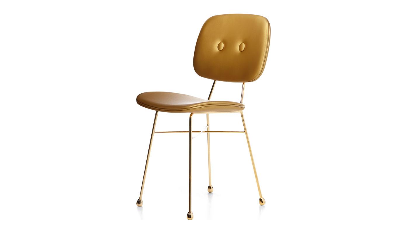 Golden Dining Chair - Quickship