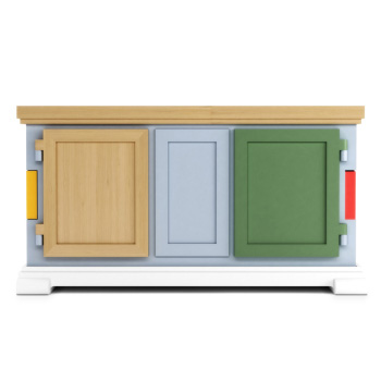 Paper Sideboard - Patchwork