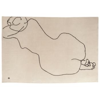 Chillida Figura Humana 1948 Rug