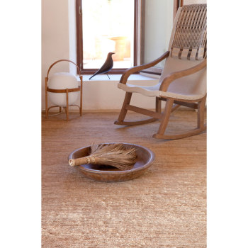 Knitted Natural Rug
