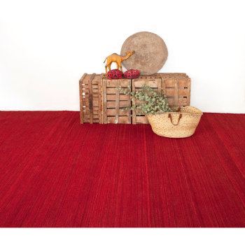 Nomad Deep Red Rug