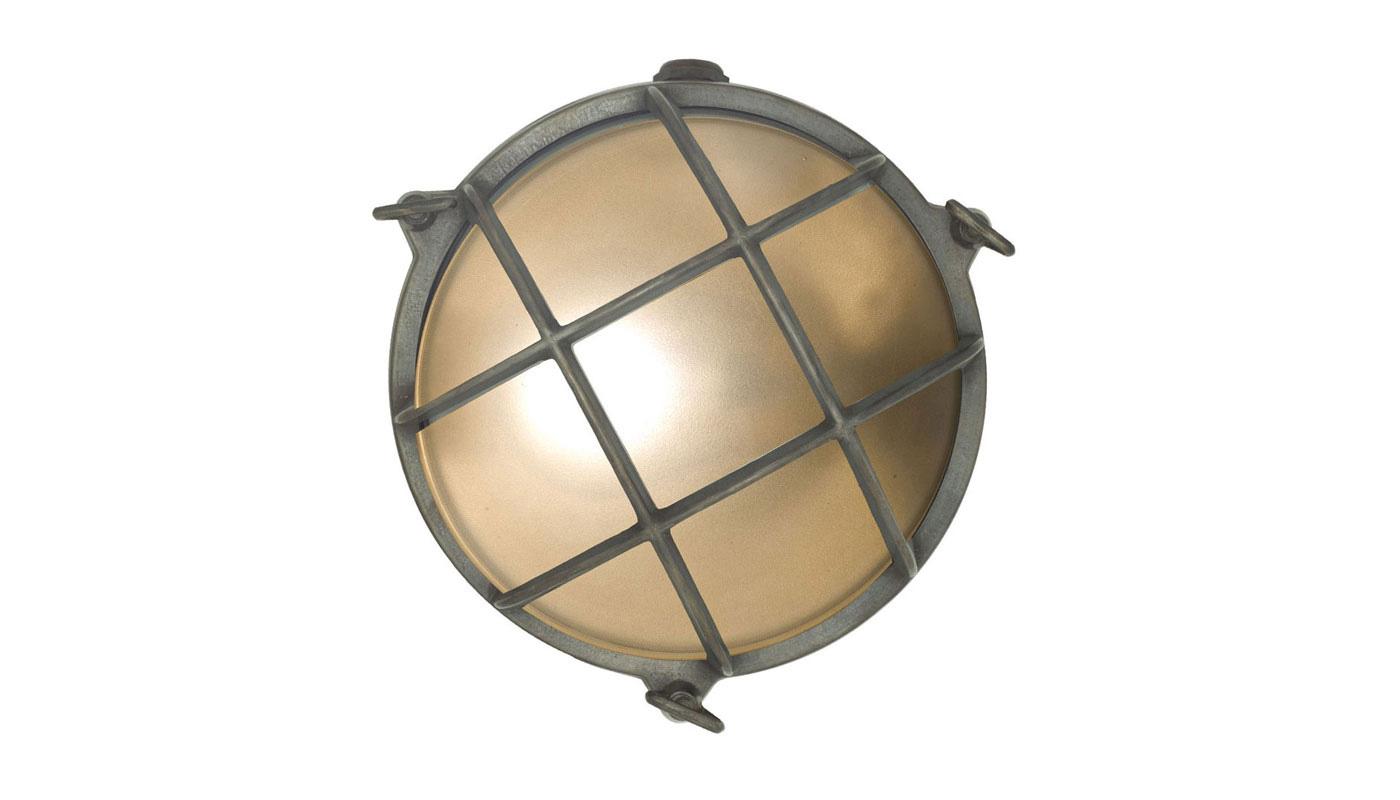 Bulkhead Wall Light - Brass