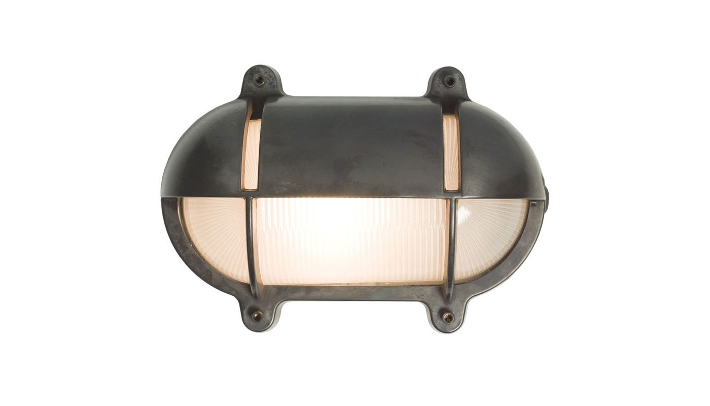 Bulkhead Wall Light - Oval