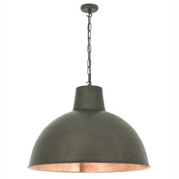 Spun Reflector Suspension Light - Large