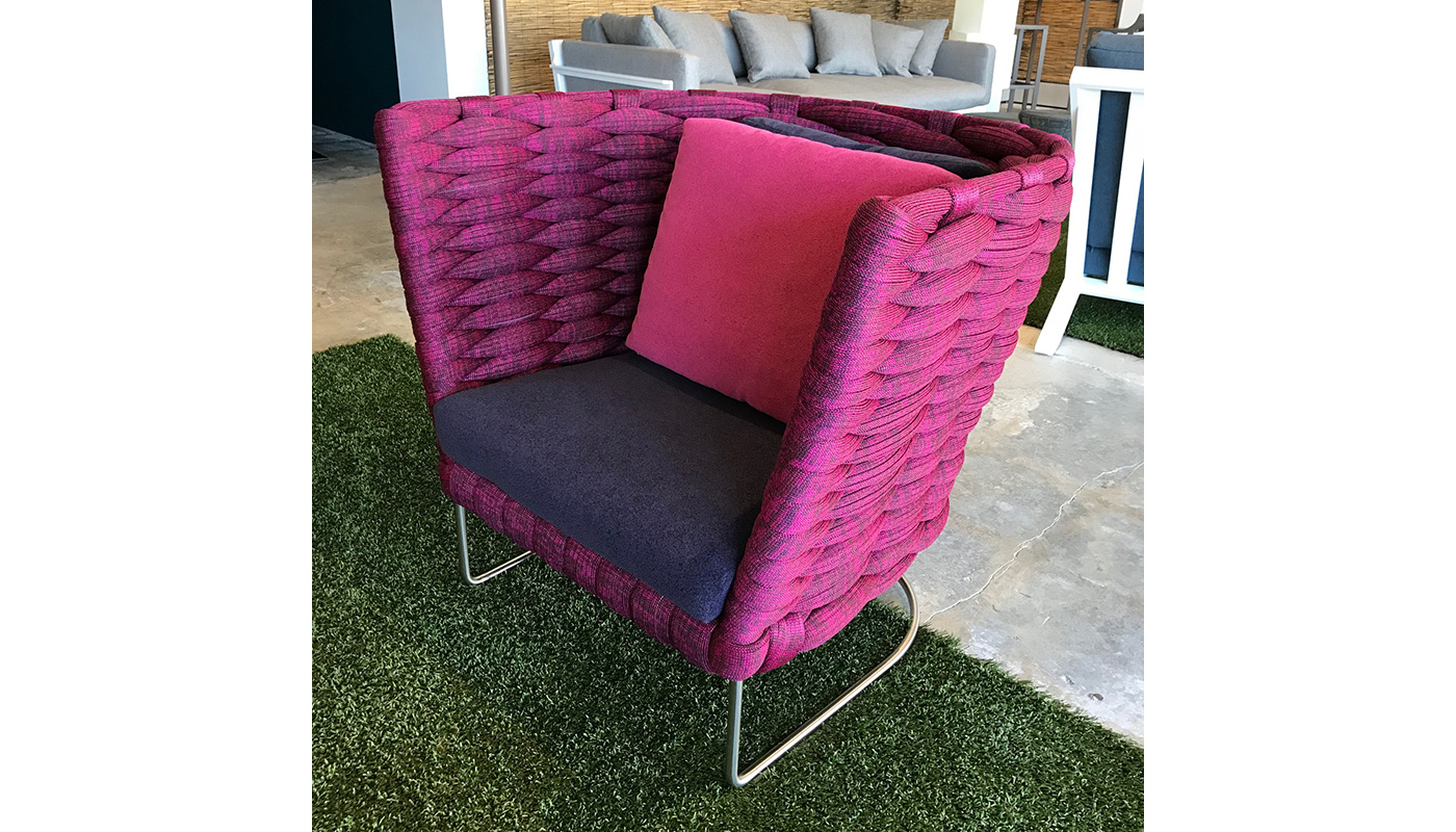 Ami Lounge Chair - Outdoor - In Our Showroom