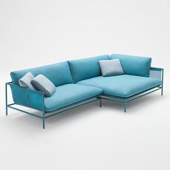 Canvas Sectional Sofa