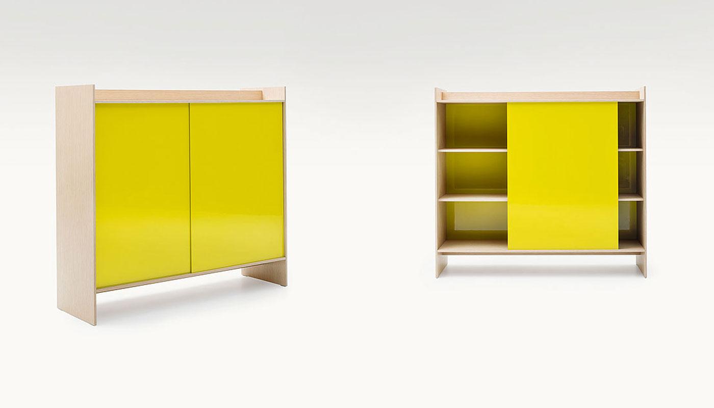 Euclide Storage Cabinet