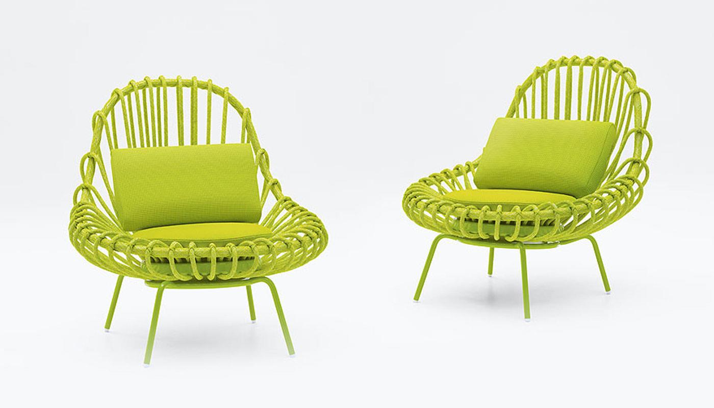 Giunco Lounge Chair