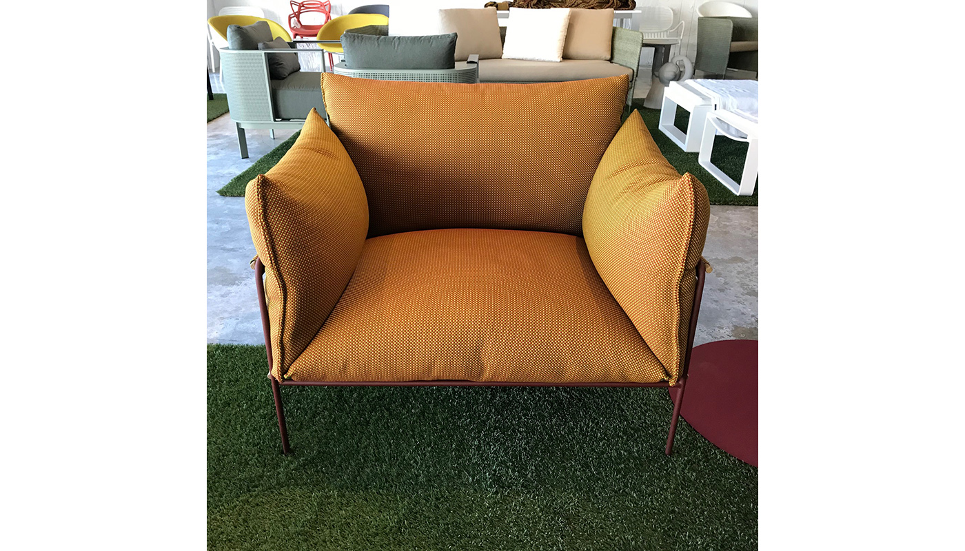 Kaba Lounge Chair - Outdoor - In Our Showroom