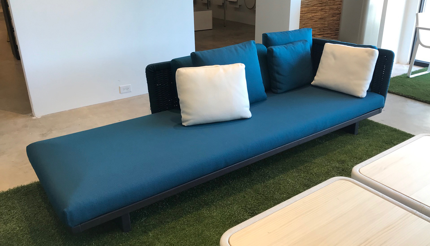 Sabi Sofa - In Our Showroom