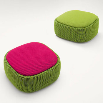 Smile Ottoman-Container - Outdoor