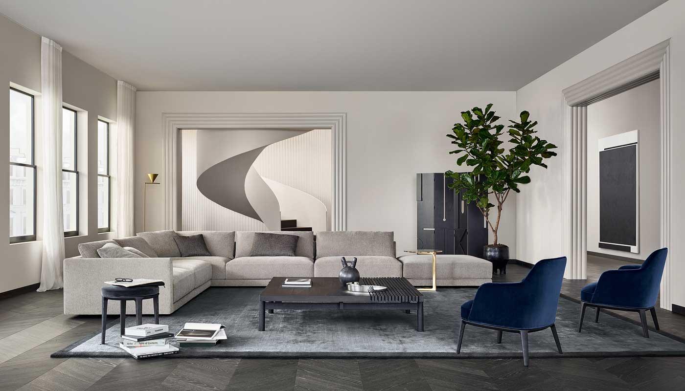 Bristol Sectional Sofa - Quickship