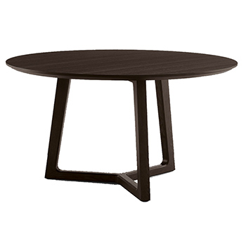 Concorde Dining Table - Black Elm - In Our Showroom