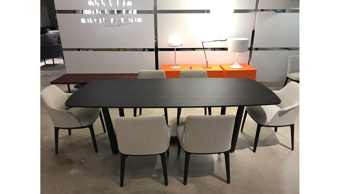 Concorde Dining Table - Spessart Oak - In Our Showroom
