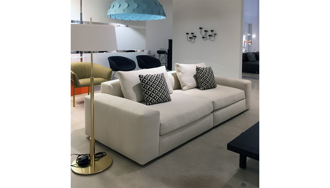 Dune Sofa - In Our Showroom