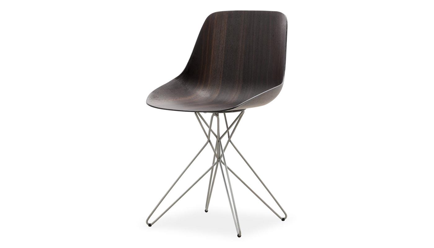 Harmony Dining Chair - Chrome Base