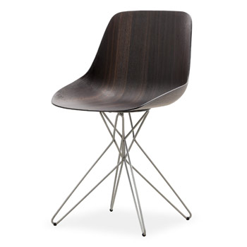 Harmony Dining Chair - Chrome Base