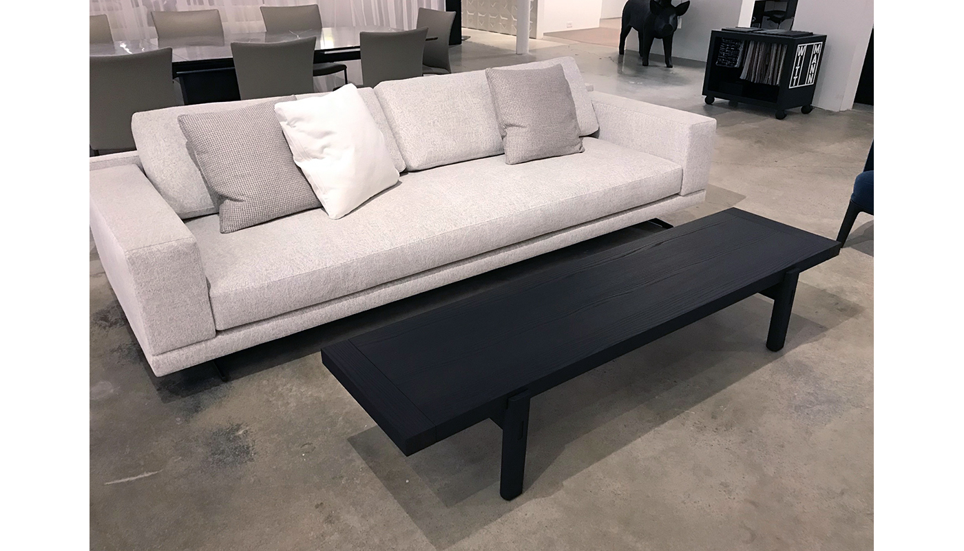 Home Hotel Bench - In Our Showroom