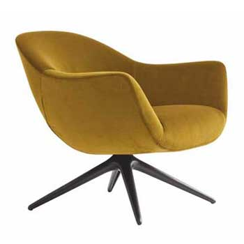 Mad Lounge Chair - Swivel - Quickship