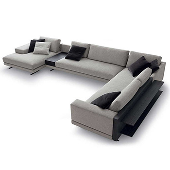 Mondrian Sectional Sofa -  In Our Showroom