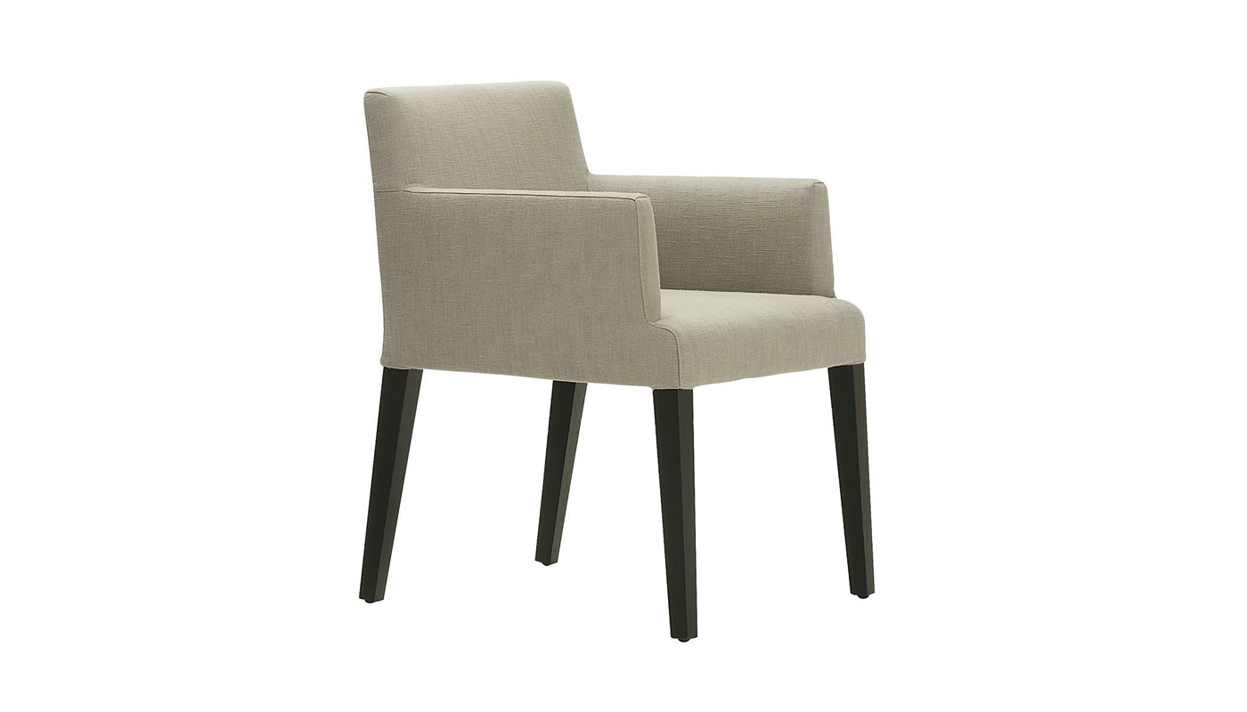 Velvet Dining Chair with Arms