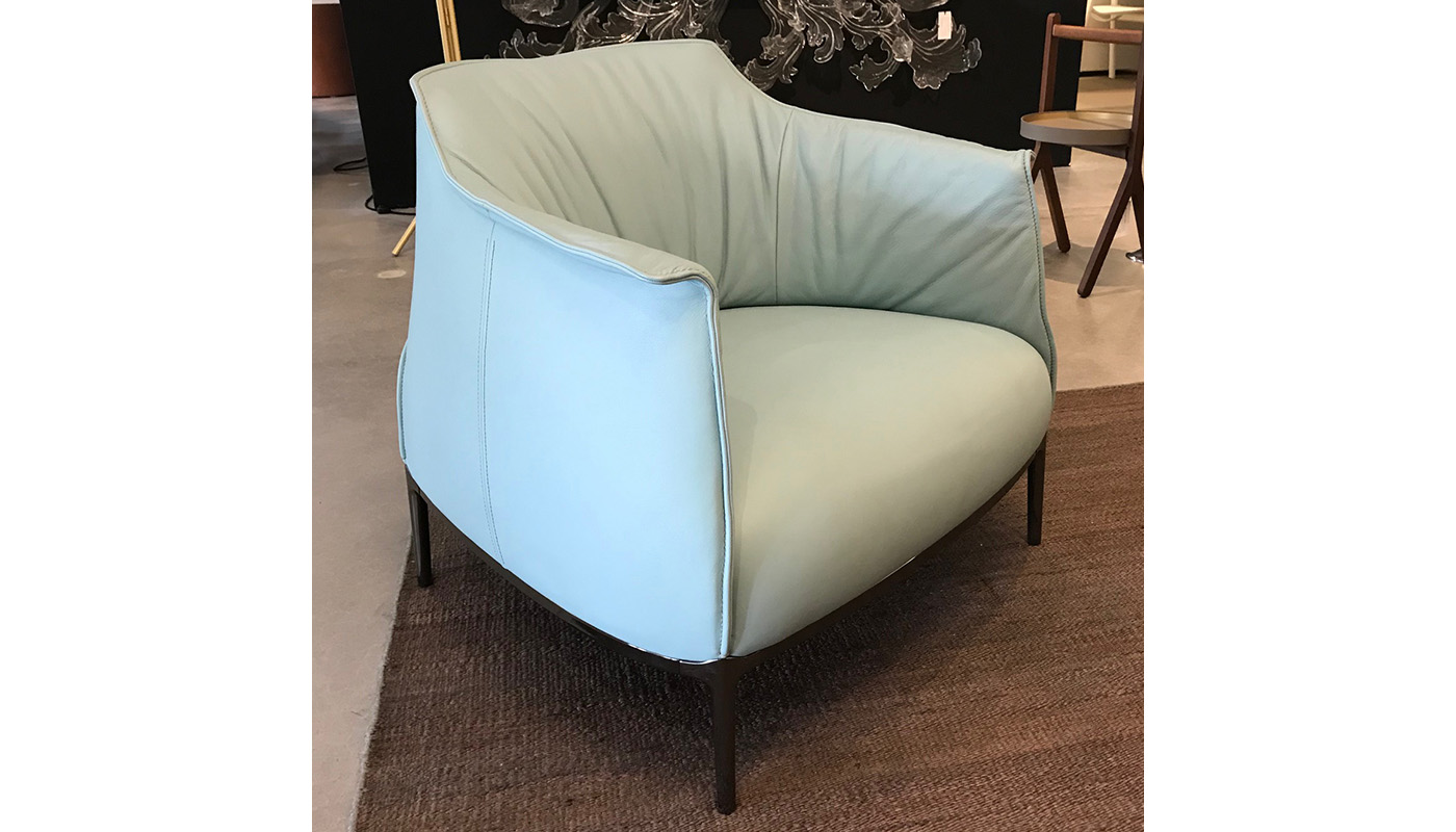 Archibald Lounge Chair - In Our Showroom