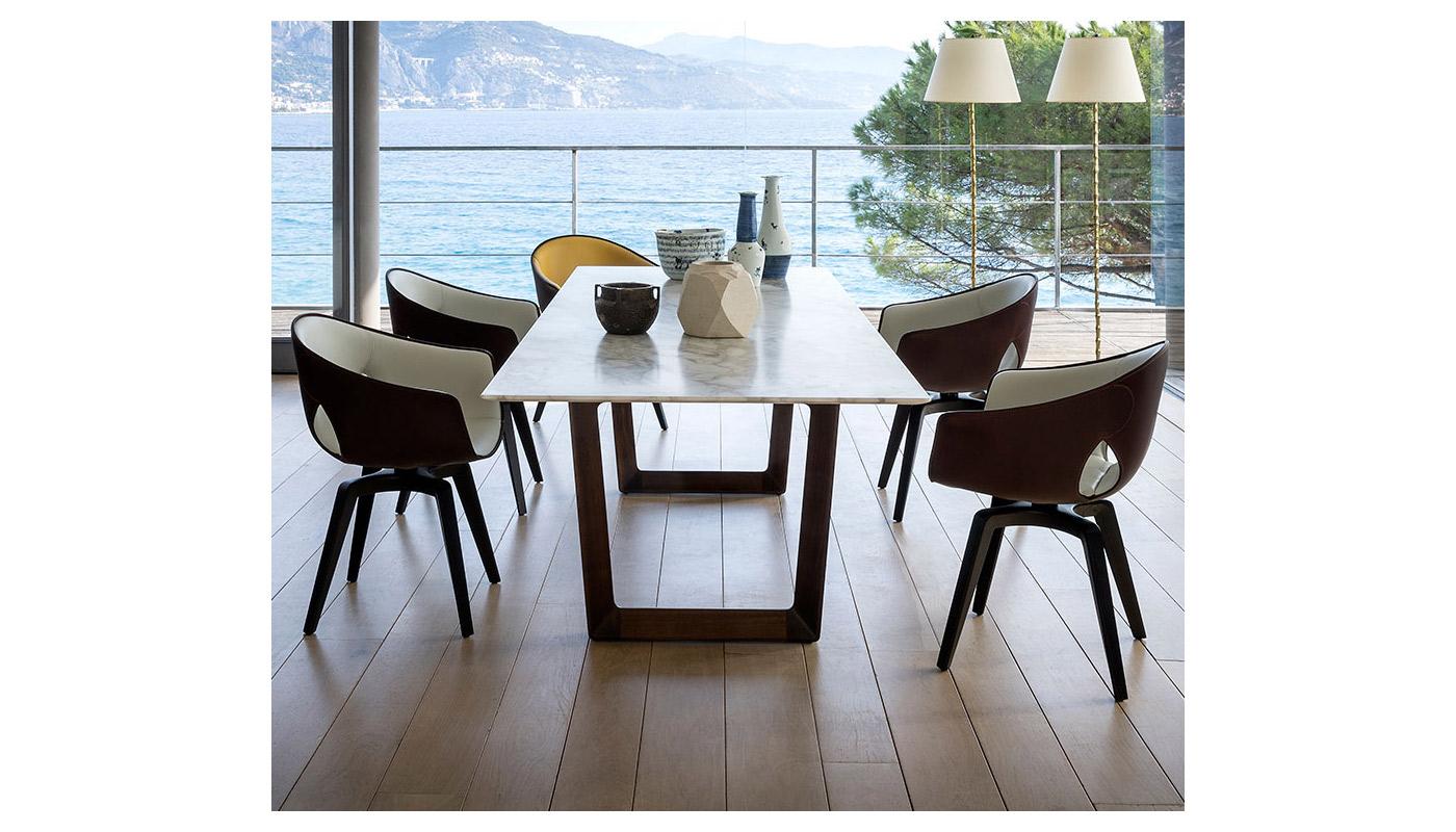 Bolero Rectangular Dining Table - Quickship