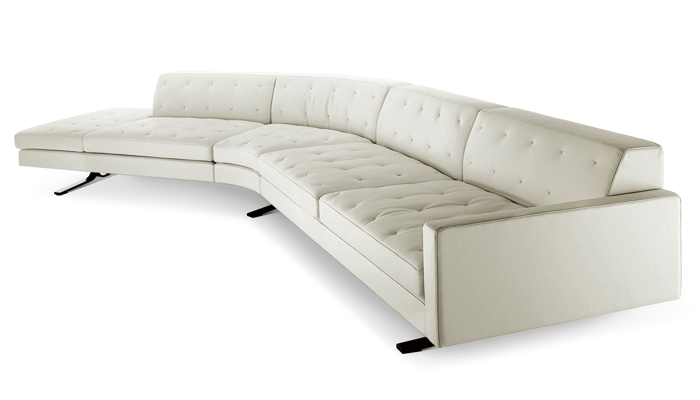 Kennedee Sectional Sofa By Poltrona