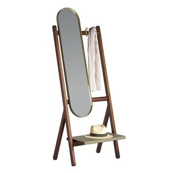 Ren Standing Mirror with Hangers