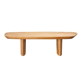 Junto - Footed Wood Tray - Medium