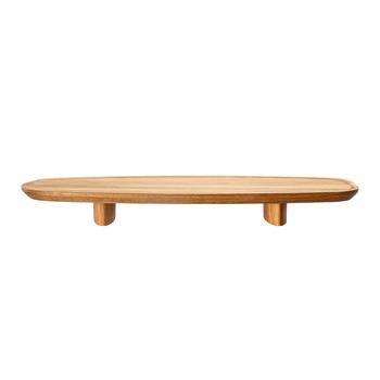 Junto - Footed Wood Tray - Small