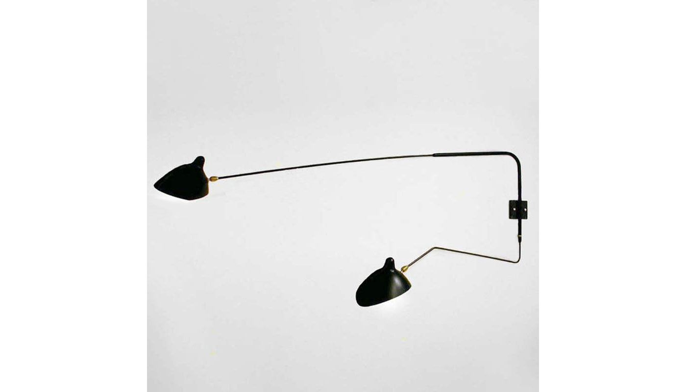 2 Arm Rotating Sconce