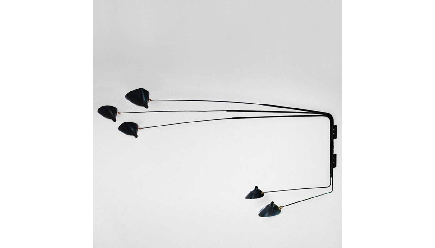 5 Arm Rotating Sconce