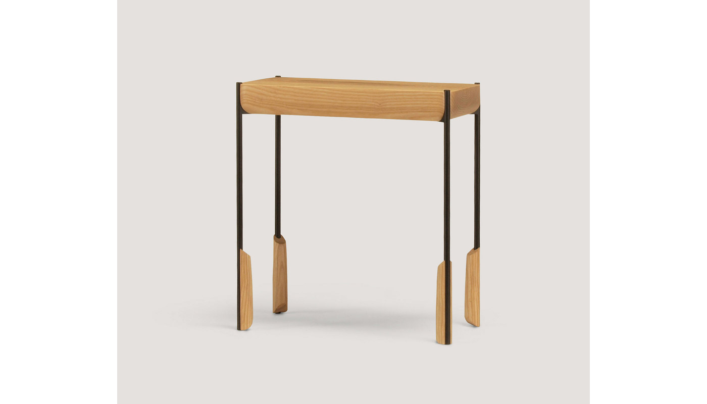 Altai Rectangular Small Table - Quickship