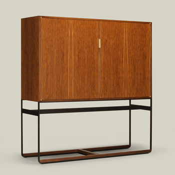 Piedmont Cabinet on Stand - Quickship