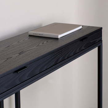 Wishbone 2 Drawer Console Table