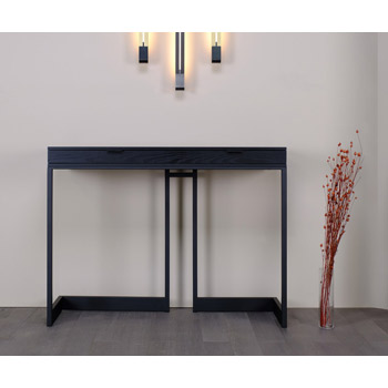 Wishbone 2 Drawer Console Table - Quickship