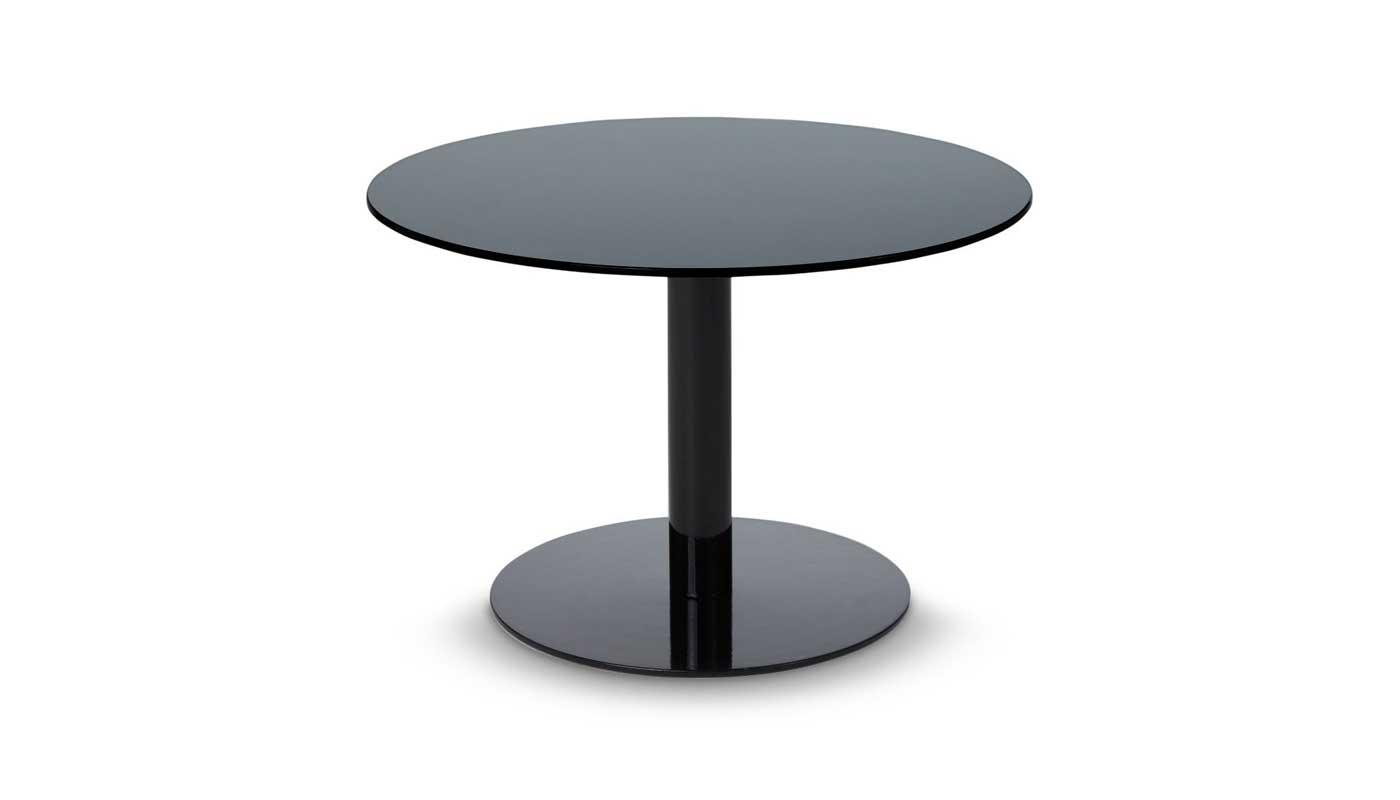 Flash Circle Small Table - Black
