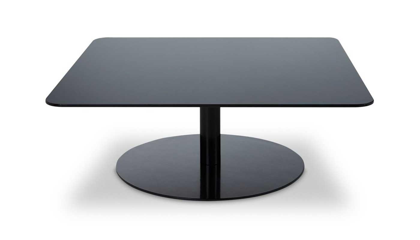 Flash Square Coffee Table - Black