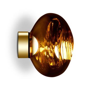 Melt Mini Wall Light - Gold