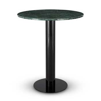 Tube Bar Table - Black