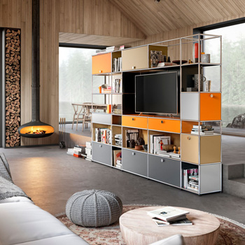 USM Haller Storage Cabinet - Custom
